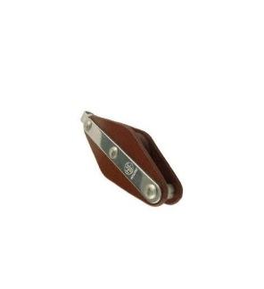 Enkelblock med bygel & hundsvott - Rep 10mm, trissa 30mm