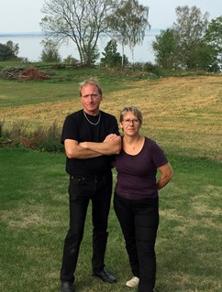 Roger och Gunilla tog över  Logen, hösten 2016