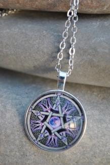 Halsband Pentagram - Halsband Pentagram