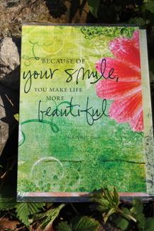 Smile vykortkort - Smile vykortkort