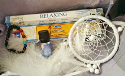 Gudinneboxen med spirituella produkter