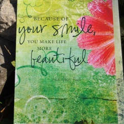 Smile vykortkort