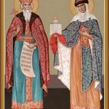 Hl. Valdemar och hl. Olha av Kyïv