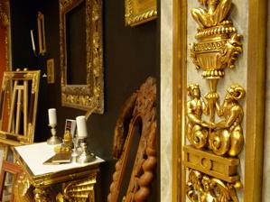 Stockholms Förgyllning & Bildhuggeri Tavelramar Speglar Möbler Restaurering och nytillverkning