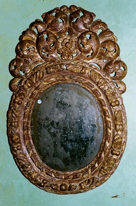 Den restaurerade Precht spegeln har fått en ny chans och ett nytt liv.