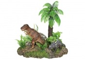 Akvariedekorationer Dinousarier/Växt