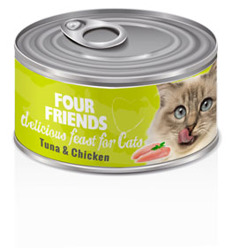 Four Friends Tuna & Chicken - Tuna & Chicken 85g
