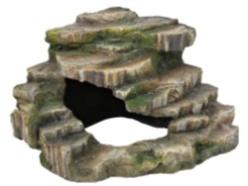 Hörnsten med grotta - Hörnsten med grotta  26×20×26