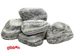 Sten Zebra Rock - Zebra Rock ca 10cm
