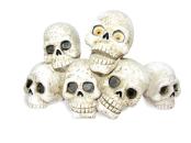 Zombie skulls