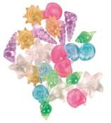 Kristallsnäckor plast 24-pack