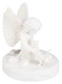 Minnesfigur katt med ängel