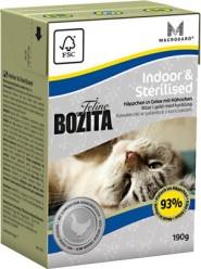 BOZITA FELINE INDOOR & STERILISED - INDOOR & STERILISED 190G