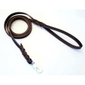 Läderkoppel 9x180 brun