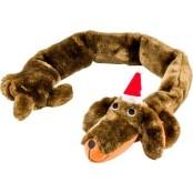 Santa Sausage Dog 87 cm