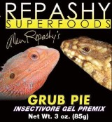 Grub pie reptil