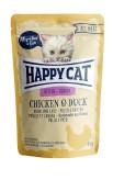 HappyCat  Junior kyckling & anka