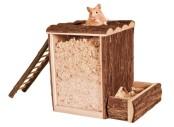 lek- och sovtorn hamster