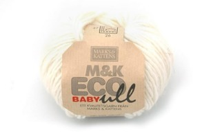 M&K Eco Baby Ull - Offwhite173