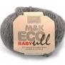 M&K Eco Baby Ull - Mörkgrå170