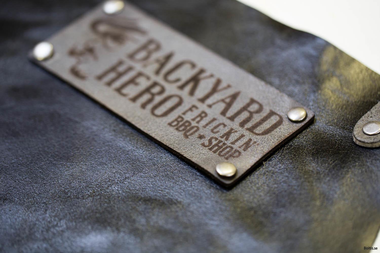 Boltisbbq egen logotyp Backyard Heroes
