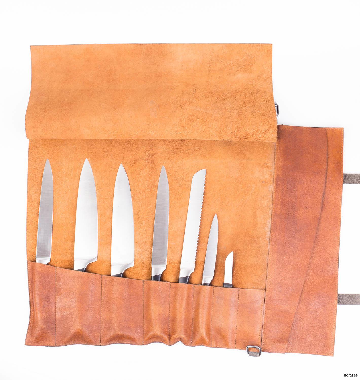 Boltisbbq knivrulle öppen