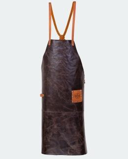 Förkläde Pro Mörkbrun - Standardficka - Standardstorlek 95x65cm