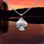 Midnattssol halssmycke - Midnattssol Silver