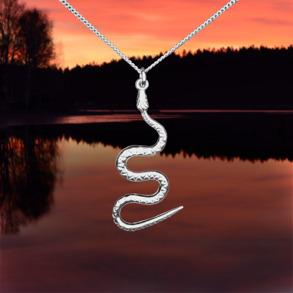 Ormen halssmycke -