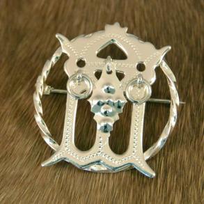 Malja silverbrosch -