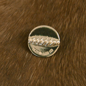 Silverknapp liten -