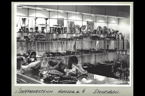 På 70-talet hade vi en butik i Stockholm.