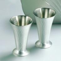 2 st snapsglas