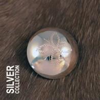 Silverknapp stor