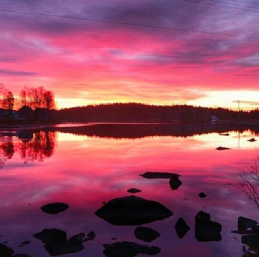 Early morning in Jokkmokk