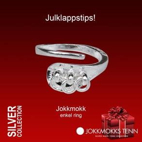 Jokkmokk ring - Jokkmokk silver