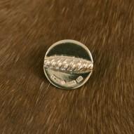 Silverknapp liten