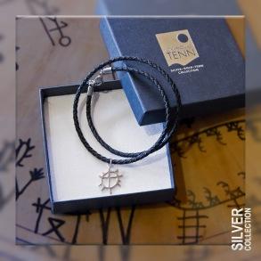 Solhjul halssmycke/armband