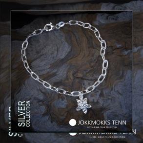 Hjortron - Armlänk med berlock - 18 cm
