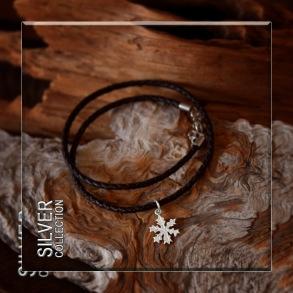 Snöstjärna halssmycke/armband -