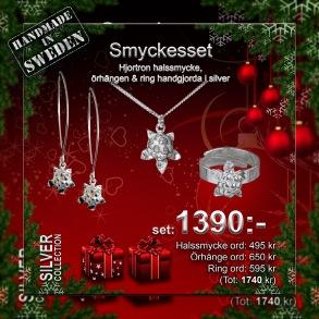 Smyckesset Hjortron -
