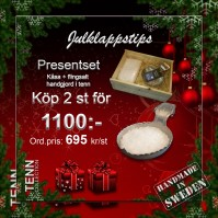 Presentset Saltkåsa