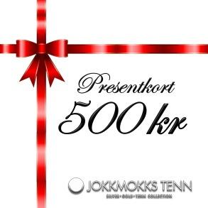 Presentkort 500 kr -