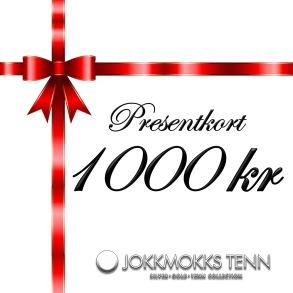 Presentkort 1000 kr -