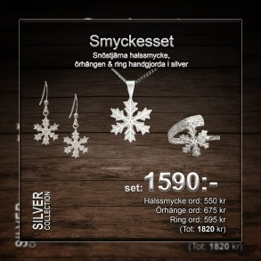 Snöstjärna smyckesset -