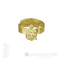 Hjortron 18K guldring