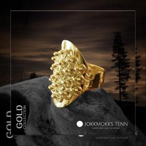 Sarek 18K guldring