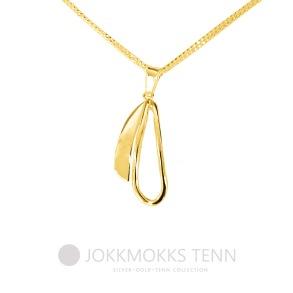Kukkolaforsen halssmycke 18 K guld