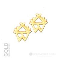 Sáráhkká guld örhänge