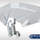 Spoiler / vindavvisare Vario 3D+ - Klar/silver